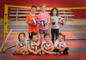 Itsy Bitsy Spikers camp