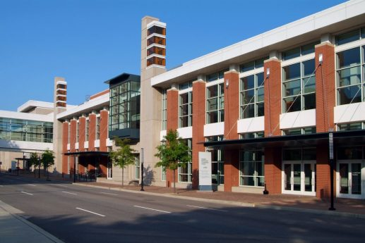 Greater Richmond Convention Center exterior shot