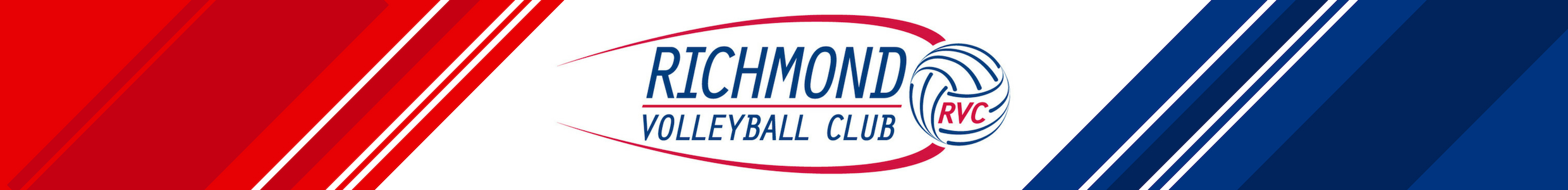 Richmond Volleyball Club logo banner