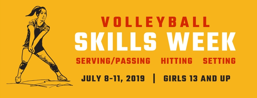 Skills Week Summer Camps at Richmond Volleyball Club