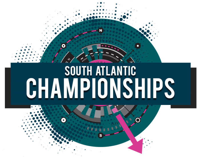 Girls South Atlantic Championships volleyball tournament logo