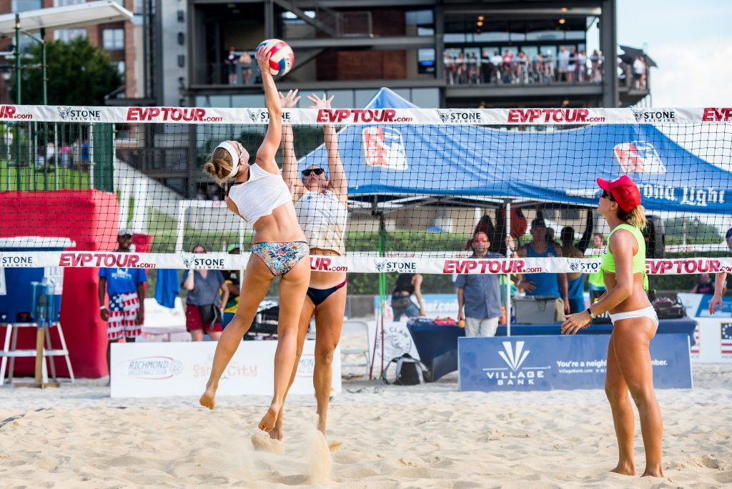 "Rocketts Red Glare Richmond Volleyball Club ""Sand in the City"" Pro-Beach Tournament"