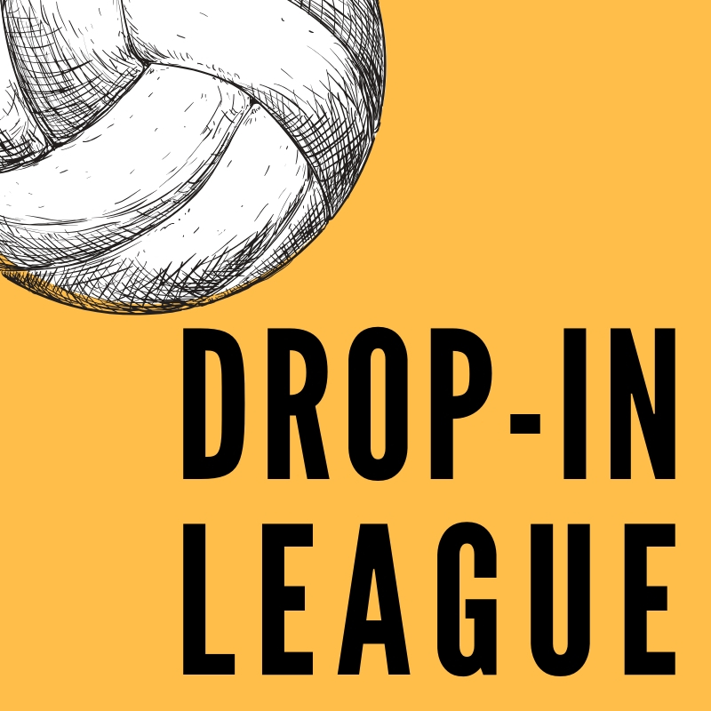 Drop In League square logo