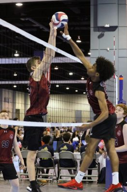 Richmond Volleyball Club Boys Competitive Travel Volleyball