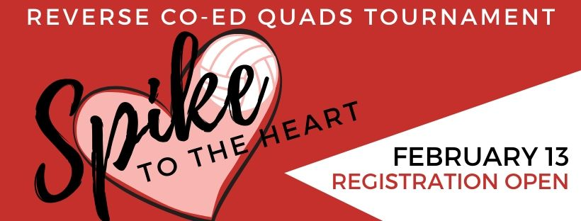 Spike to the Heart Quads Banner