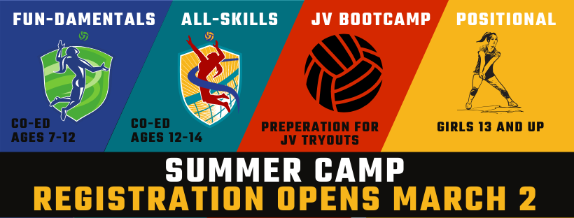 Summer Camps Homepage Banner