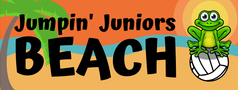 Jumpin' Juniors Beach Summer Kids Volleyball