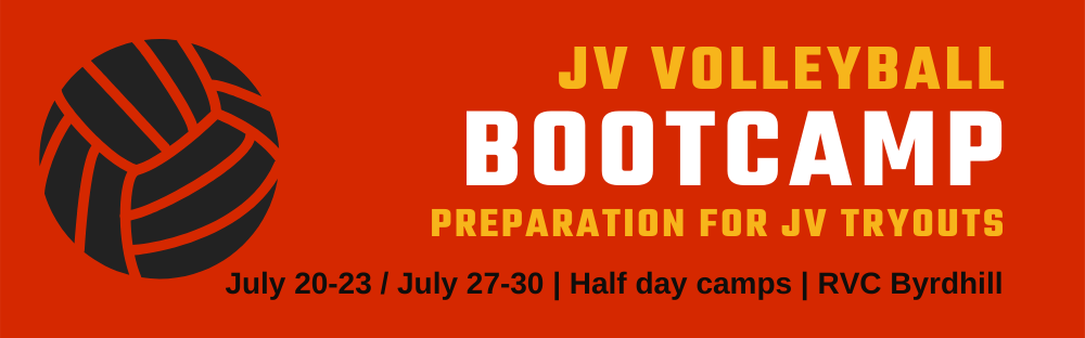JV Bootcamp Volleyball Summer Camps at Richmond Volleyball Club - preparation for high school volleyball tryouts